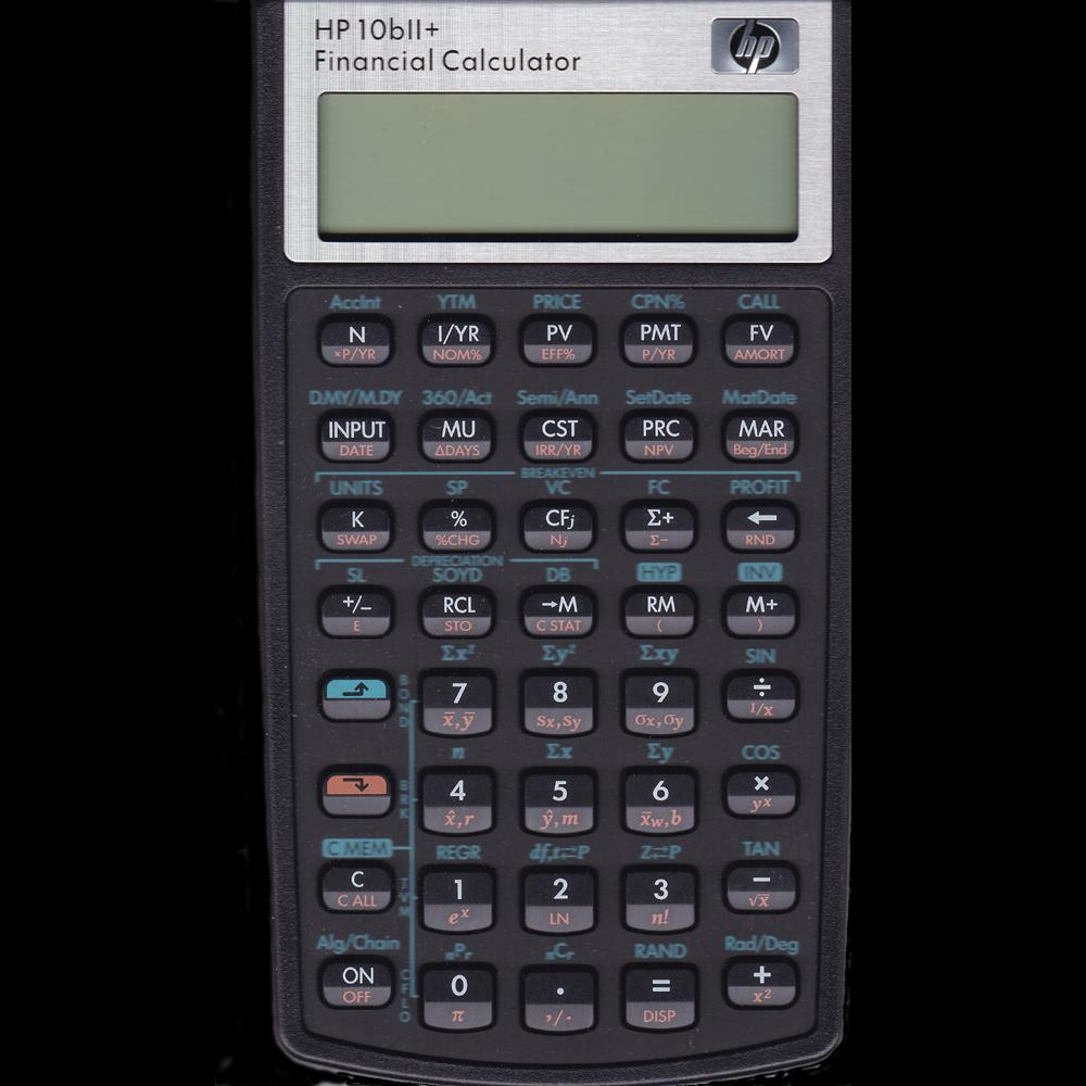 HP 10bII+ Financial Calculator – Millennia